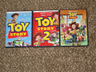 Works Great Toy Story 1 2 3 Trilogy DVD Disney Fast shipping I II III