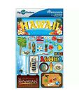 Scrapbooking Craft Stickers 3D Hawaii License Plate Aloha Coconut Drink NWT B251