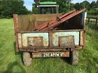 Bale Muck Dump Tipping Trailer Flatbed Farm Tractor Trailer Bale Extension