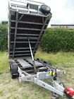 Ifor williams tipping trailer TT126 TT362112 x 66 Winch mesh Tarp lash points