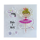 Dance Girl Transparent Silicone Rubber Clear Stamps Scrapbooking Embossing DIY