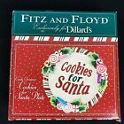 Santa Plate Fitz and Floyd Candy Christmas Cookies for Santa