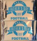 2 THICK PACKS-2017 PANINI FATHERS DAY FOOTBALL PACKS HOT PROMO!!! #ED AUTO RELIC