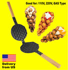 Non Stick Pan for PUFFLE WAFFLE Maker Professional FY 6 MOLD QQ EGG BUBBLE