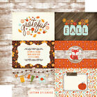 The Story Of Fall 12x12 Scrapbook Paper Autumn Pumpkins Thanksgiving