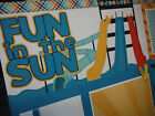 2 Premade Fun in the Sun Waterslides 12x12 Scrapbook Pages for your family