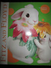 FiTZ & FLOYD BUNNY BLOOMS COOKIE JAR RARE NIB Easter