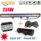 18w288w Led Work Light Bar Flood Spot Offroad Fog Driving Lamp Boat For Jeep