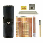 Professional Drawing Artist Kit Set Pencils And Sketch Charcoal Art Tools