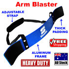 BICEP ARM BLASTER BLUE HEAVY DUTY BAR BODYBUILDING CURL TRICEPS ISOLATOR WEIGHT