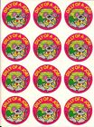 Vtg 1989 Trend Sniff Dill Pickle Scented Mouse Mice Stickers Sheet Glossy