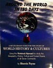 SHERRIE PAYNE Around the World in 180 Days Student Worksheets  Brand New