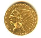 1925 D Quarter Eagle High Grade MS+ $2.50 Indian Denver Mint