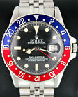 Rolex Oyster Perpetual GMT-Master 1675 Jubilee Vintage Stainless Steel Watch