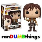 Funko Pop! Sasha Braus #238 GameStop Exclusive Attack on Titan w PROTECTOR