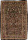 Fine Tree of Life Design Unique Kerman Persian Area Rug Oriental Carpet 8X12