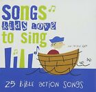 SONGS KIDS LOVE TO SING Bible Action Songs CD  Brand New