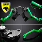 MZS Pivot Brake Clutch Levers For Kawasaki KX250 KX250F KX450F KX125 KX65 KX85