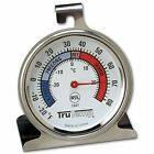 Refrigerator Freezer Thermometer Classic Stainless Steel Temperature Kitchen New