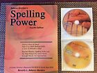Spelling Power 4th Edition with DVD and CD ROM Current Edition  FREE SHIPPING