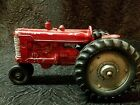 Vintage slik toy  Metal Farmall Tractor Collectible mid century