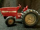Vintage ERTL Metal Toy Tractor VTG 1970s RED Farmall International