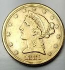 1881 $5 Gold Liberty Head-Extremely Fine+-Free USA Shipping-XF+