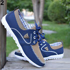 NEW Mens Canvas Daily Casual Patchwork Sneakers Sports Outdoor Shoes
