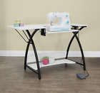 Studio Designs Sewing Comet Craft Table White Sewing Machine computer office