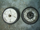 TWO Toro Recycler 20333 Personal Pace Rear Drive Tires Wheels