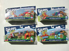 QTY OF 4 SERIES #2 SMURFS MICRO VILLAGE STARTER SETS HEFTY POET PAPA CIRCUS NEW!