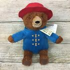 NWT Paddington Bear Plush Kohls Cares 13 Red Hat Blue Coat