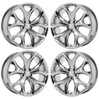 20 DODGE CHARGER CHALLENGER RT PVD CHROME WHEELS RIMS FACTORY OEM SET 4 2523