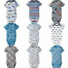 Gerber Baby Boys Onesies Bodysuit Assorted Prints Newborn 0 3 3 6 6 9 12 Month