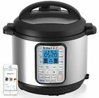 Instant Pot Smart 60 Bluetooth Multi-Use Programmable Pressure Cooker 6 Qt Steel