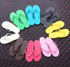 Solid Colorful Flip Flops Slippers Summer Flat Havaianas Shoes Leisure Antiskid