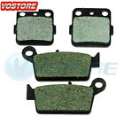 Front Rear Carbon Brake Pads Fit 2003 2004 2005 2006 2007 HONDA CR 85R RB