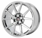 19 CADILLAC CTS V SEDAN PVD CHROME WHEEL FACTORY ORIGINAL OEM 19x9 FRONT 4647