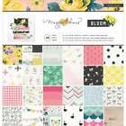 Crate Paper Single Sided Paper Pad 12X12 48 Pkg Maggie Holmes B 854196804290