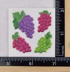 Sandylion FUZZY GRAPES Stickers 1 Square NEW