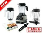 Countertop Blender Set Smoothies Juicer Wet Dry Food Containers Recipe Guide Kit