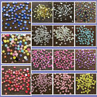 2 4 6 8 10 12mm Half Round Bead Flat Back Pearl Scrapbooking Embellishment Craft