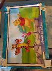 Winnie the Pooh  Tigger Poster 24 x 34 Bounce Skip and Jump