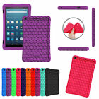 Silicone Case Cover Kids Friendly for All New Amazon Fire HD 8 Tablet 7th 2017
