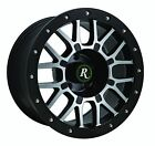 Remington Off Road RTC 17x9 Wheels Rims 5x1143 Black Machined YJ TJ JEEP SALE