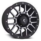 Remington Off Road RTC 18x9 Wheels Rims 5x1143 Black Machined JEEP YJ TJ SALE