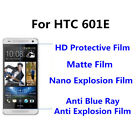 3pcs For HTC 601E Good Touch MatteAnti Scratch High Clear Screen Film