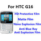 3pcs For HTC G16 Good Touch MatteAnti Scratch High Clear Screen Film