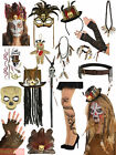 Adult Witch Doctor Fancy Dress Mens Ladies Halloween Costume Accessories Outfit