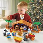Little People Christmas Story Nativity Playset Jesus Kids Manger Toys